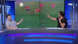"""رضا عبد العال وشادي محمد وفاروق لم يتمالكوا أنفسهم من الضحك """"بسبب فيديو  نادر لشادي"""" - YouTube"""