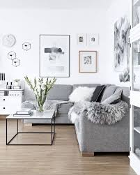 Scandinavian Living Rooms Grey White Furniture Room Decorating Ideas Simple  Design Tips Interior On A Budget For Small Spaces Traditional Couch Gray  Cheap ...