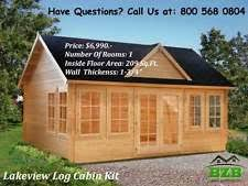 Small Picture Log Cabin Kits Construction eBay