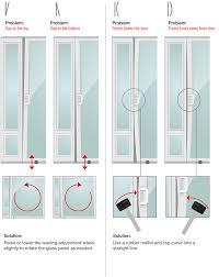 patio pet door air leaks examples