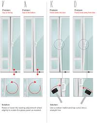 patio pet door air leaks examples