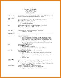 Example Of A Medical Assistant Resumes 5 Entry Level Medical Assistant Resumes Business