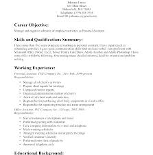 Personal Objective Resume Resume Objective Examples For Nursing