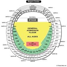 Rogers Centre Detailed Seating Chart Rogers Centre Seating Charts