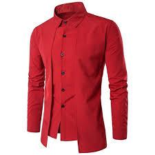 2019 <b>ZOGAA Brand New Men'S</b> Smart Casual Shirts Slim Fit Leisure ...