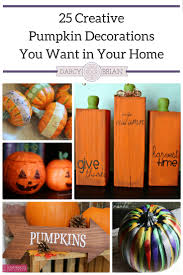 looking for creative pumpkin decorations to put out this fall these fun diy projects will