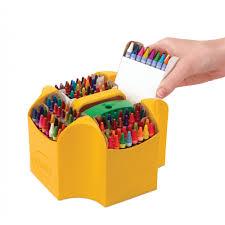 Crayon Rings Crayola Ultimate Crayon Case Sharpener Caddy 152 Colors
