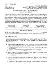 The Best Resumes Examples Examples Of The Best Resumes Examples For