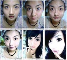 asian make up transformation o