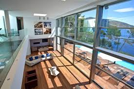 modern mansion living room. Double Height Living Room In Modern Mansion On The Cliffs Of Mallorca