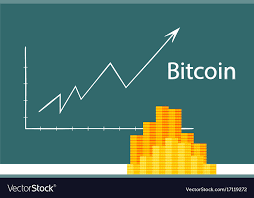 Bitcoin Crypto Currency Stick Graph Chart Of Stock
