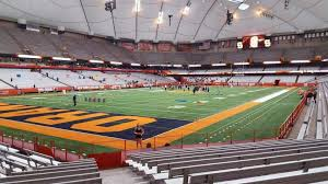 Su Dome Seating Chart Carrier Dome Section 121 Home Of Syracuse Orange