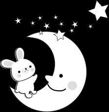 月のイラスト無料イラスト