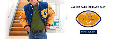 Jostens Apparel Size Chart Varsity Jackets Custom Chenille Patches And School Awards