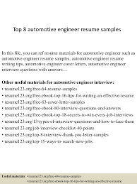 Sample Resume For Quality Engineer In Automobile Sample Resume For Quality Engineer In Automobile Resume Ixiplay 14