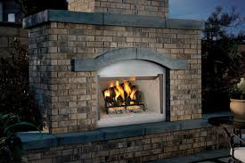 indoor outdoor double sided fireplace