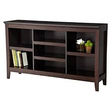 Threshold Carson Horizontal Bookcase, Espresso