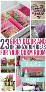 diy bedroom organization. 23 Dorm Room Decor And Organization Ideas Diy Bedroom L