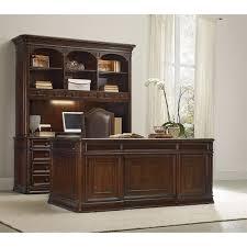 Hooker Furniture 5238 Haddon Hall Executive Desk in Dark