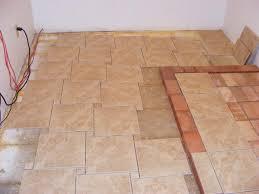 Floor Tile Layout Patterns Cool Ceramic Tile Install Patterns Tile Design Ideas