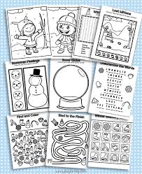 Free coloring sheets to print and download. 10 Free Printable Winter Coloring Activity Pages Sunny Day Family
