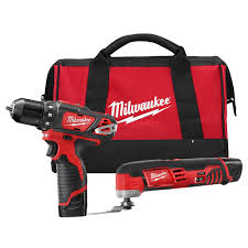 milwaukee m12 logo. milwaukee m12 12-volt lithium-ion cordless drill driver/multi-tool combo logo r
