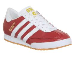 adidas nomad red white gum beckenbauer t544165 trainers mens adidas