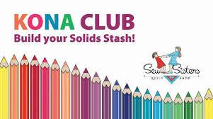 Kona Club - Sew Sisters Online Store featuring quilt fabric, Block ... & Kona Club Adamdwight.com