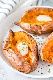 air fryer sweet potatoes baked it the