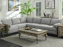 2 pc sectional carena fabric with chaise