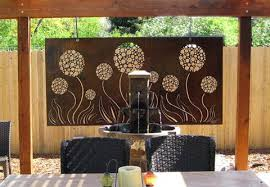 wall art ideas design contemporary outdoor exterior metal wall art wooden stained varnished flowers expensive high quality professional artworks top  on exterior metal wall art uk with wall art ideas design contemporary outdoor exterior metal wall art