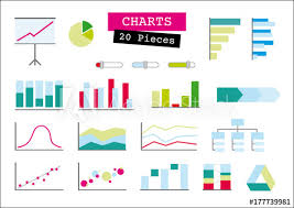 Advertising Charts And Graphs Abstract Advertising Area Chart Arrow Background