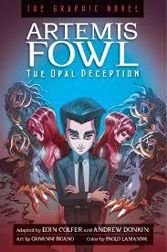 artemis fowl the opal deception graphic novel book at low s in india artemis fowl the opal deception graphic novel reviews ratings