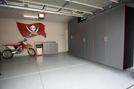 Large Garage Cabinets Garage Stunning Large Garage Design With White Cabinets Decorating