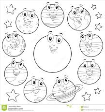 Solar System Coloring Page Pages With The For Adults Sheets
