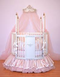 Cool White Round Crib 93 On House Decorating Ideas with White Round Crib