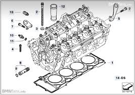 cylinder head attached parts bmw 7 e65 745i n62 bmw parts description