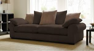 brown sofas for classic home design dark brown sofas light brown cushion black bookshelf glass