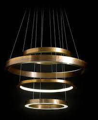 contemporary italian lighting. Luminaires Design - By Italian Architect Massimo Castagna, Light Ring  Chandelier For Henge Contemporary Italian Lighting