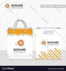 Design With Company Company Shopping Bags Design With Creative Design