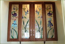 stained glass door panels glass cabinet awesome superb leaded glass kitchen cabinet door inserts stained faux