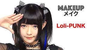 kawaii loli punk makeup tutorial by melo shirayuki from the anese idol group meltia you