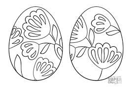 Big Easter Egg Coloring Sheet Fresh 271 Free Printable Easter Egg
