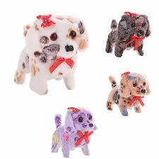 <b>Cute</b> plush dogToy Animal <b>Toy</b> Electric <b>Walking Barking</b> Plush Dog ...