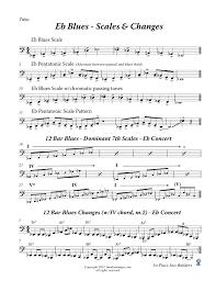 61 Genuine Tuba Scale Fingerings