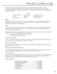 Plumbing Bid Proposal Sample Scope Of Work Template – Gamerates.co