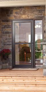 Exterior: Screen Door Lowes | Larson Retractable Screen Door ...