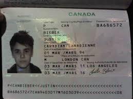 Passport All Bieber About Justin Official Bieber's