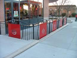restaurant patio fence. Perfect Restaurant Custom Restaurant Patio Fence Inside N