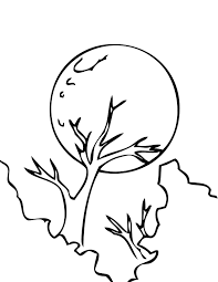 Small Picture Full moon coloring pages ColoringStar